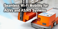 Seamless Wi-Fi Mobility for AGVs and AS/RS Systems