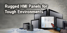 Rugged HMI Panels for Tough Environments