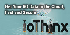 Get Your I/O Data to the Cloud, Fast and Secure