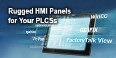 Rugged HMI Panels for Your PLCSs