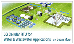 3G Cellular RTU for Water & Wastewater Applications