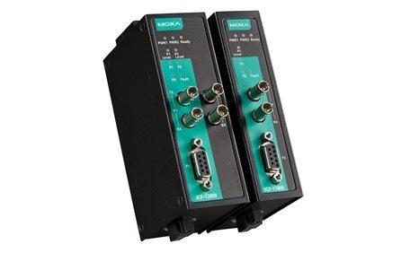 Moxa ICF-1180I Series - Industrial PROFIBUS-to-fiber